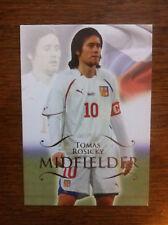2011 Unique Futera Soccer Card - Czech ROSICKY Mint