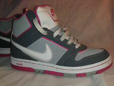 NIKE AIR 2011 WOMENS 7.5 PRESTIGE HIGH BASKETBALL RARE SHOES GREY / PINK