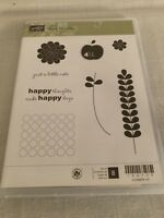 Retired Stampin' Up! APPLE BLOSSOMS, New, CLEAR mount, HOSTESS EXCLUSIVE