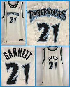 Men's Vintage KEVIN GARNETT Minnesota Timberwolves Reebok Authentics Jersey XXL