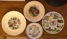 4 State Plates 1980 Pennsylvania Colorado Kentucky & Missouri