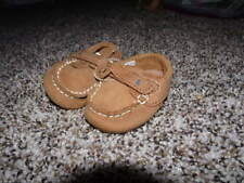 NWOT NEW RALPH LAUREN INFANT BABY BOYS 0 LOAFERS BROWN SHOES