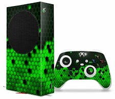 Skins XBOX Series S Console Controller HEX Green