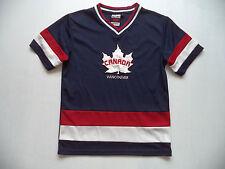 Youth Vancouver Canada jersey sz 14-16 team kids boys fitness shirt hockey