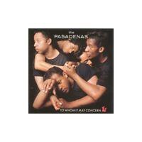 Pasadenas - To Whom It May Concern - Pasadenas CD 2YVG The Fast Free Shipping