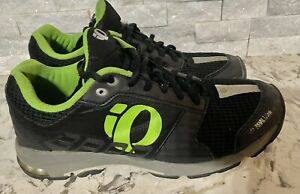Pearl Izumi Skydex Mens  Black / Green Bike Shoes Eu Size 47 Us 13