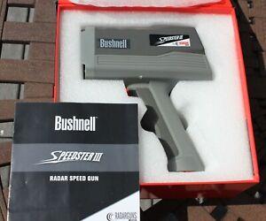 BUSHNELL SPEEDSTER III RADAR GUN MODEL 101921