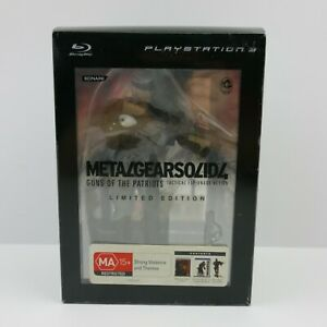 Metal Gear Solid 4 Guns of the Patriots Limited Edition PS3 Aus PAL | Great Cond