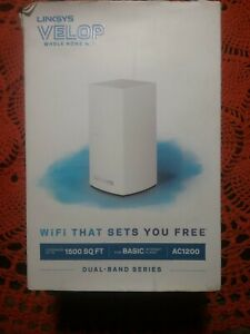 Linksys Velop AC1200 Dual Band Mesh WiFi System