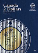 Whitman Canadian 2 Dollar Coin Folder 1990-Present #4014