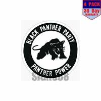 Decals Stickers Black Panther Head Helmet Atv Bike vinyl bike st5 ZZ974