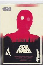 2017 TOPPS STAR WARS MONDO POSTER BY OLLY MOSS TRADING CARD #173