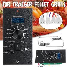 Termostato Digital Controlador Junta para Traeger Pellet Parrilla Temp & sondas de carne