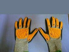 1 pair Wells Lamont Impact FlexTech I2469, Size L Ansi Cut Level 5 Palm Coated