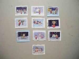 USA Used, 2015 Issue, A Charlie Brown Christmas, (Set of 10)