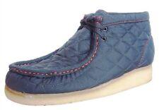 New Clarks Original Wallabee Quilt Gray Orange Shoe 79003 Matel Gris 9.5M RARE