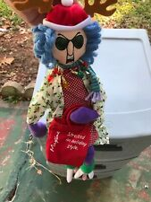 Maxine Stress In Holiday Style Grandma Doll