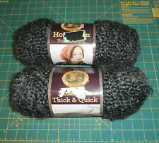 2 Skeins Homespun Thick & Quick Yarn Lion Brand Edwardian 8 oz Bulky Acrylic