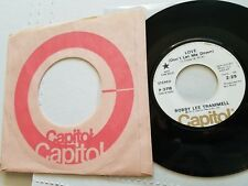 BOBBY LEE TRAMMELL - I Couldn't Beleive My Eyes RARE PROMO Country Rockabilly 7""