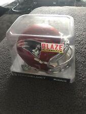 More details for patriots riddell blaze alternative mini helmet. rare! slight damaged box