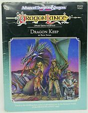 TSR AD&D 2nd Ed Module - DLE3: DRAGON KEEP - 1989  (Complete!)