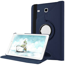 360 Rotating Leather Folio Stand Case Cover For Samsung Galaxy Tab E 8.0 SM-T377