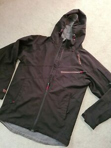 Mens Tog24 Size M Black Coat Softshell Jacket Hooded Outdoor