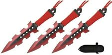 RT-8001RD Throwing Knives Red