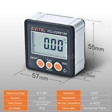 Mini LCD Digital Inclinometer Protractor Angle Finder Bevel Measuring Box H2K5