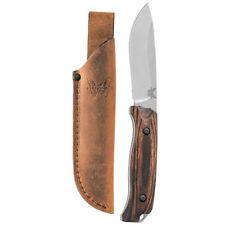 Benchmade 15001-2 Saddle Mountain Skinner w/leather sheath | Authorized Dealer