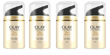 Olay Total Effects Night Firming Cream Moisturiser 7-In-1, 1.7 oz (4 Pack)