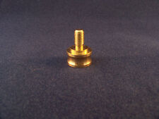 "LAMP FINIAL ADAPTER 3/8 ""DIA.PIPE TO 1/4 -27 BOLT FINIAL   GOLD/BRASS COLOR"