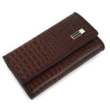 Man key holder Key Rings& Cases Man Key Wallet Man Wallet Cow Leather 1111Brown