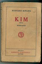 KIPLING RUDYARD KIM CORTICELLI 1928