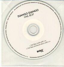 (DC831) Django Django, Hail Bop - 2012 DJ CD