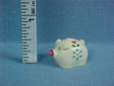 Painted Piggy Bank #0169-  Dollhouse Miniature