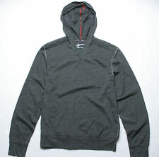 Hause of Howe Pedal Pusher Hooded Knit Sweater (M) Gun Metal Grey