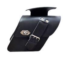 Sacoche batterie cuir DY01 - Harley Davidson DYNA - Street Bob Fat Fob Low Rider