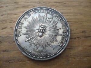Jeton ancien ancien argent massif Caisse d'épargne Lyon 10,2 Grs