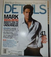 Details Magazine Mark Wahlberg & Jessica Biel September 2002 031315R