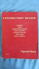 1950's Ingersoll-Rand Construction Review & Equipment Catalog-Telluride Mines-