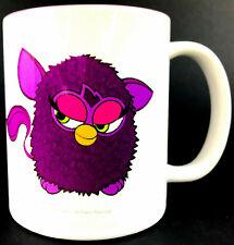 Purple Furby Coffee Tea Mug Cup Rare