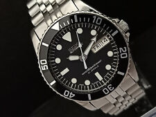 SEIKO DIVER 7S26-0050 SKX023J SUBMARINER 10 BAR RESIST AUTOMATIC WATCH 673876