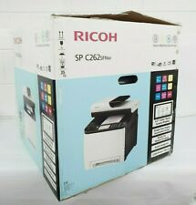RICOH SP C262 SFNw Colour Multifunction Laser Printer Scan Fax Network WiFi NFC