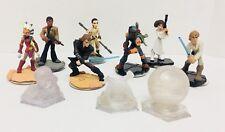 Disney Infinity 3.0 Star Wars Lot Of 10 Luke Skywalker Leia Anakin Boba Fett Rey