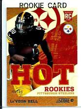 2013 Score Hot Rookies ReFractor D#40/99 Le'veon Bell Rookie Pittsburgh Steelers