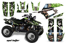Yamaha Warrior350 AMR Racing Graphic Kit Wrap Quad Decals ATV All Years MAD HATR