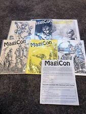 1992 50th World SF Convention MAGICON Program Book And More
