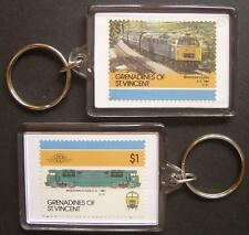 1961 BR Class 52 WESTERN Train Stamp Keyring (Loco 100)