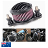 Black CNC Air Cleaner Intake Filter Kit Harley Sportster XL883 XL1200 2004-2016